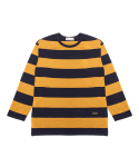 팜스트럭(FARM'S TRUCK) Ep_Stripe T-shirt(Navy)