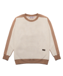 팜스트럭(FARM'S TRUCK) Fledge_Sweat shirt(Beige)