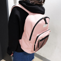 와드로브(WARDROBE) DAILY MESH BACKPACK_PINK