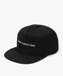 해브 어 굿 타임(HAVE A GOOD TIME) Side Logo Snapback - Black