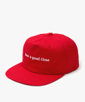 해브 어 굿 타임(HAVE A GOOD TIME) Side Logo Snapback - Red