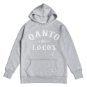 콴토데로코스(QANTO DE LOCOS) ORIGINAL LOGO HOODIE_LIGHT GREY
