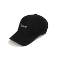 시너프() SYNERF MIDDLE LOGO 6PANEL CAP (BLACK)