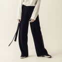 피칸파이() STRING LONG WIDE BANDING PANTS (NA)