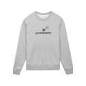 [Tea Please] Peppermint Basic Sweatshirts Fleece(Grey)