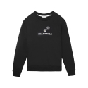 [Tea Please] Peppermint Basic Sweatshirts Fleece(Black)
