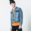 칩먼데이(CHEAP MONDAY) STAPLE DENIM JACKET BLUE BLOCK M0365573 BLU