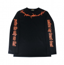 런디에스(RUNDS) RUNDS heartbeat long sleeve (black_overfit)