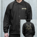 쓰레셔(THRASHER) Pentagram Coach Jacket - Black