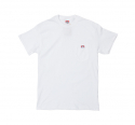 벤 데이비스(BEN DAVIS) [벤 데이비스] BEN DAVIS - Classic Label Pocket T-Shirt [White]