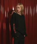 키치콕(KITCHCOCK) PIERCING LONG SLEEVE T-SHIRT BLACK