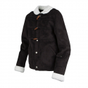 로맨틱크라운(ROMANTIC CROWN) [ROMANTICCROWN]LUMBERJACK MOUTON JACKET_BLACK