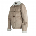 로맨틱크라운() [ROMANTICCROWN]LUMBERJACK MOUTON JACKET_GRAY