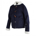로맨틱크라운() [ROMANTICCROWN]LUMBERJACK MOUTON JACKET_NAVY
