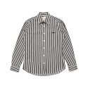 셀렉온(CELECON) [CELECON] STRIPE WHALE SHIRT WHITE