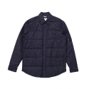 셀렉온(CELECON) [CELECON] PADDING QUILT SHIRT NAVY