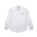 셀렉온(CELECON) [CELECON] PADDING QUILT SHIRT WHITE
