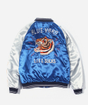 TIGER SOUVENIR JACKET BLUE