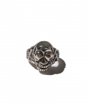 피넛츠 앤 코(PEANUTS & CO) PEANUTS&CO / SKULL POISON RING ZIRCONIA / YELLOW