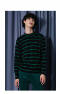 챈스챈스(CHANCECHANCE) Serene Stripe Knit(Green)