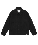 라이풀(LIFUL) WOOL SNAP JACKET black