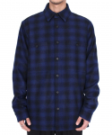 CONFUSION CHECK WOOL JACKET DARKBLUE