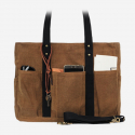 모노노(MONONO) 8 Pocket 3 Way Bag_Wax Canvas Camel