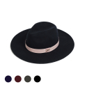 mannish wide fedora hat (5color)