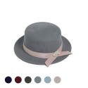 pearl wool hapburn hat (6color)