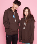 씨와이초이 쿼터(CY CHOI 1/4) CCCC oneday delivery Hoodie_Brown