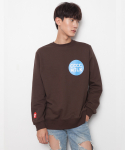 씨와이초이 쿼터(CY CHOI 1/4) CCCC Milk Sweat shirt_Brown