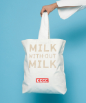 MILK without MILK ecobag _ White