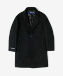 레이어 유니온(LAYER UNION) NED WOOL SINGLE COAT BLACK