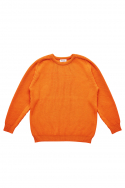 PATCH PULLOVER_ORANGE