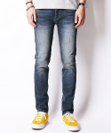 크래프티드(KRAFTED) BLUE CAST WASHED JEANS