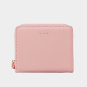 Dijon 301 Layer ZIpper Wallet light pink