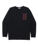 오픈오드(OPN ODD) BOX LOGO LONG SLEEVE T (BLK)