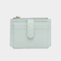 살랑(SALRANG) Dijon 301S Flap mini Card Wallet aqua mint