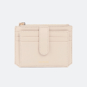 살랑(SALRANG) Dijon 301S Flap mini Card Wallet cream beige