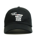 오픈오드(OPN ODD) SHOT GUN PIPE BALL CAP (BLACK)