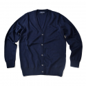 비슬로우() 16FW PLAIN CARDIGAN NAVY