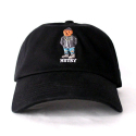 히스토리바이나스(HSTRY) HSTRY BY NAS HSTRY Bear Strapback (BLACK)