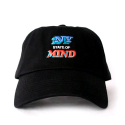 히스토리바이나스(HSTRY) HSTRY BY NAS State of Mind Dads Hat (BLACK)