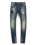 드로우엠(DRAW.M) D3-F360 - Paint Patchwork Jean