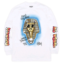 HSTRY BY NAS Pharaoh L/s Tee (WHITE)