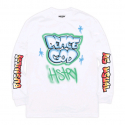 HSTRY BY NAS Peace God L/s Tee (WHITE)