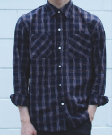 스와인즈() Premium garment check shirts charcoal
