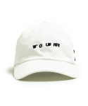오픈오드(OPN ODD) TOUR BALL CAP (WHITE)