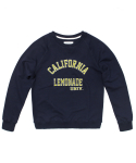 세컨무브(SECONDMOVE) UNIVERSITY SWEATSHIRT_NAVY