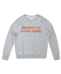 세컨무브(SECONDMOVE) UNIVERSITY SWEATSHIRT_GRAY